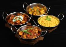 Selezione indiana del curry Fotografia Stock Libera da Diritti