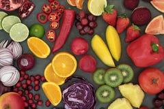 Selezione sana di Superfood Immagine Stock Libera da Diritti