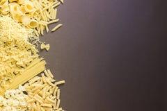 Selezione a secco mista della pasta Fotografie Stock