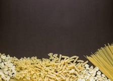 Selezione a secco mista della pasta Fotografia Stock Libera da Diritti