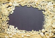 Selezione a secco mista della pasta Immagini Stock