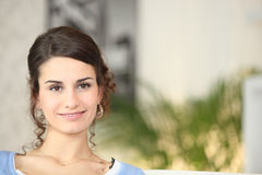 Self assured young woman Royalty Free Stock Photo
