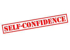 SELF CONFIDENCE Royalty Free Stock Image