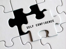 Self - Confidence Royalty Free Stock Photography