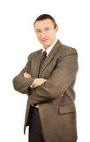 Self confident man in a business suit Stock Photo