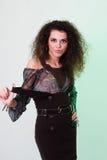 Self-confident young woman Stock Photos