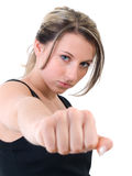 Self-defence Royalty Free Stock Photography