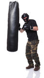 Self defence training Royalty Free Stock Photo
