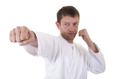 Self defense exercise Royalty Free Stock Image