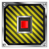 Self Destruct Button Stock Photo