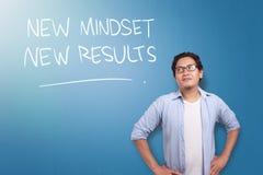 Self Development Motivational Words Quotes Concept, New Mindset Result royalty free illustration