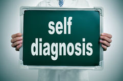 Self diagnosis Stock Photos