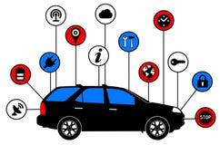 Self driving car Royalty Free Stock Photo