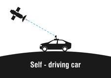 Self - driving car Royalty Free Stock Photo