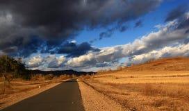 Self driving travel in Inner Mongolia Stock Image