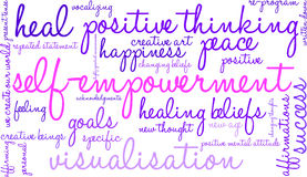 Free Self Empowerment Word Cloud Royalty Free Stock Photo - 65105525