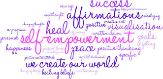 Free Self Empowerment Word Cloud Stock Photos - 65105533