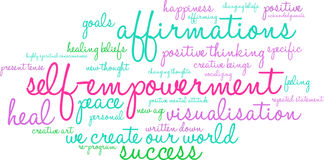 Free Self Empowerment Word Cloud Stock Images - 65105634