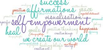 Free Self Empowerment Word Cloud Stock Image - 65105971