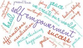 Self Empowerment Word Cloud Stock Image