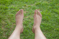Self feet photo Royalty Free Stock Photo