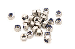 Self-locking nuts Stock Images