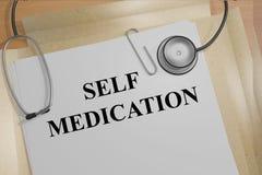 Self Medication medicial concept Royalty Free Stock Photo