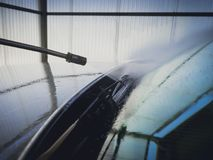 Self-operated car wash Stock Images