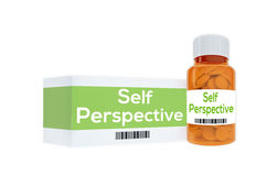 Self Perspective concept Royalty Free Stock Photo