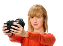 Self-portrait Royalty Free Stock Photography