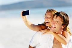 Self portrait couple Stock Images