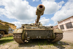 Self-propelled armored artillery howitzer 152mm howitzer 2C3 Acacia Royalty Free Stock Images