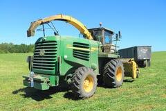 Self-propelled forage harvester John Deere 7450 Royalty Free Stock Images