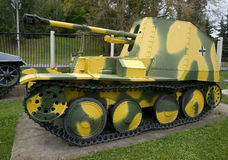 Self propelled gun 1 Royalty Free Stock Photography
