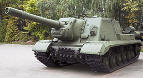 Self propelled gun 2 Royalty Free Stock Photos