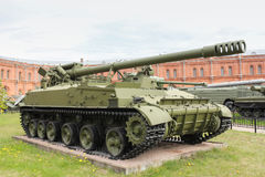 Self-propelled gun Hyacinth-C. Stock Photos