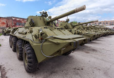 Self-propelled gun NONA-SVK Royalty Free Stock Image