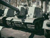 Self-propelled gun Royalty Free Stock Image