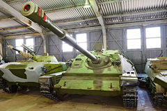 Self-propelled gun SU-85 Royalty Free Stock Photos