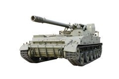 Self-propelled 152-mm gun, Hyacinth-C of the USSR in 1976 Stock Image