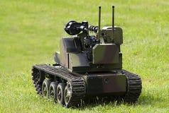 Self-propelled robotic combat vehicle Stock Photo