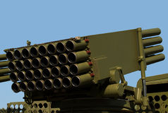 Self-propelled Rocket Launcher Royalty Free Stock Image