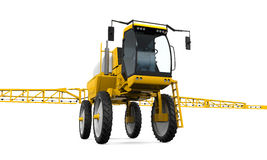 Self Propelled Sprayers. Isolated on white background. 3D render Royalty Free Stock Image