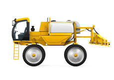 Self Propelled Sprayers. Isolated on white background. 3D render Royalty Free Stock Photography