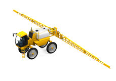 Self Propelled Sprayers. Isolated on white background. 3D render Royalty Free Stock Images