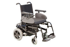 Self-propelled wheelchair. Under the white background Stock Images