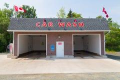 Self Service Car Wash Stock Photo