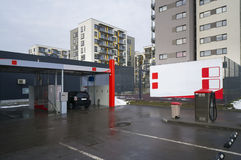 Self-service  car wash Stock Image