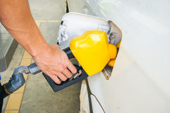 Self service FUEL Pump Royalty Free Stock Photo