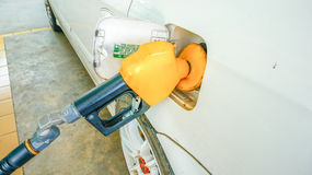 Self service FUEL Royalty Free Stock Photo